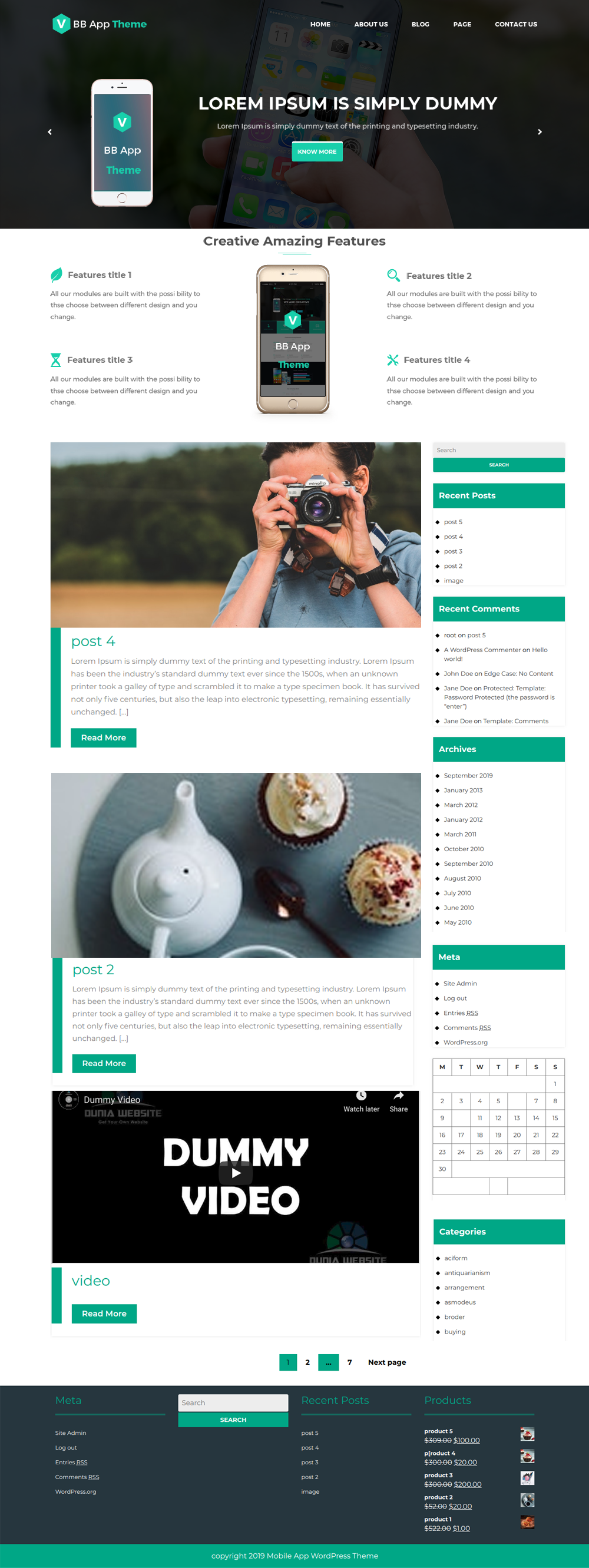 Free Mobile Responsive Business Wordpress Theme - WordPress Themes